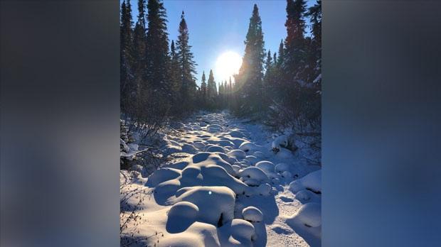 Nice scenery in Porcupine Mountains. Photo by Stewart Bidinosti.