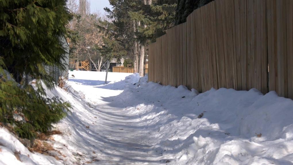 Prince Albert walkway