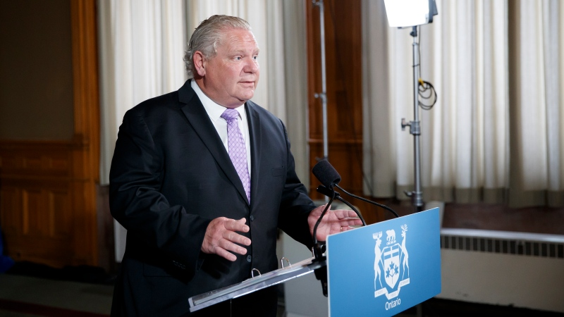 doug ford ontario reopening