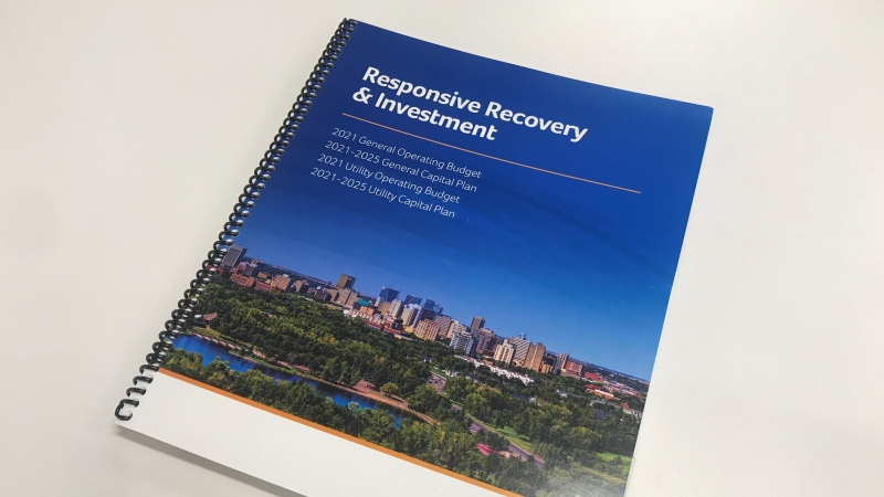 The City of Regina released its proposed 2021 budget on March 5. (Cally Stephanow / CTV News Regina)