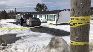 Cape Breton Regional Police are investigating after the body of a 71-year-old woman was discovered in a Howie Centre, N.S. residence on Friday morning.