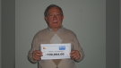 Frank Ostrogonac won $100,000 playing Encore. (courtesy OLG)