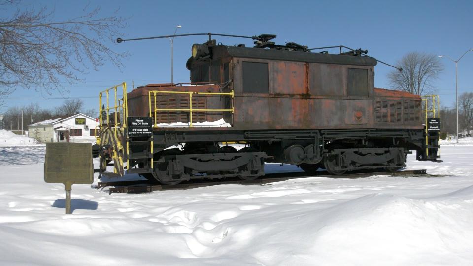 Cornwall's Locomotive 17