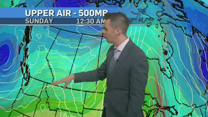 Weekend to stay above average. Kevin has details..