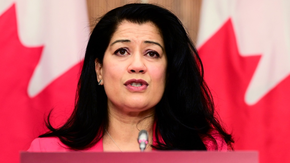 Dr. Supriya Sharma, chief medical adviser at Health Canada, holds a technical briefing in Ottawa on Friday, March 5, 2021, on the authorization of the COVID-19 vaccines in Canada. THE CANADIAN PRESS/Sean Kilpatrick