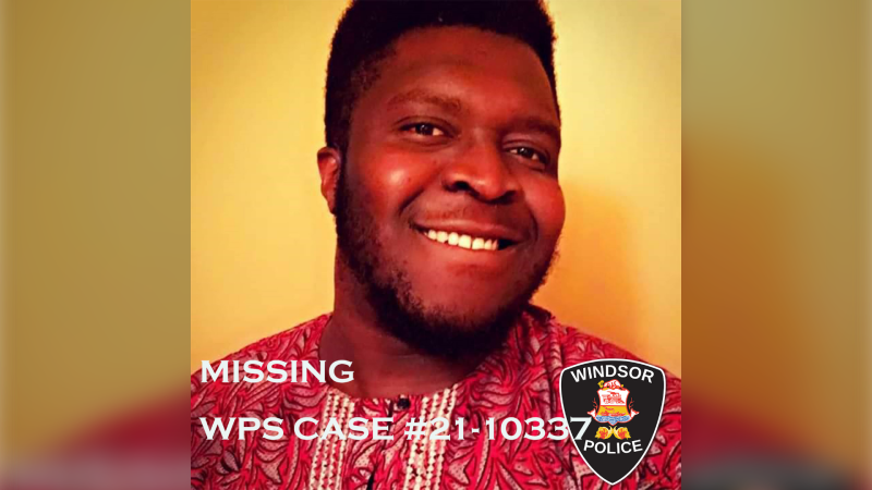 Police are searching for Oyebode Oyenuga of Windsor who was last seen was last seen on Tuesday, Feb. 2. (courtesy Windsor police)