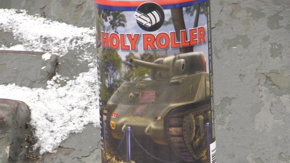 Toboggan Brewery's new Holy Roller lager is seen in London, Ont. on Friday, March 5, 2021. (Gerry Dewan / CTV News)