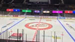 The Brandt Centre in Regina is ready to host the WHL's East Division Hub. (Katy Syrota/CTV News)