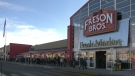 The opening of the new Freson Bros. store in south Edmonton on March 5, 2021. (Matt Marshall/CTV News Edmonton)