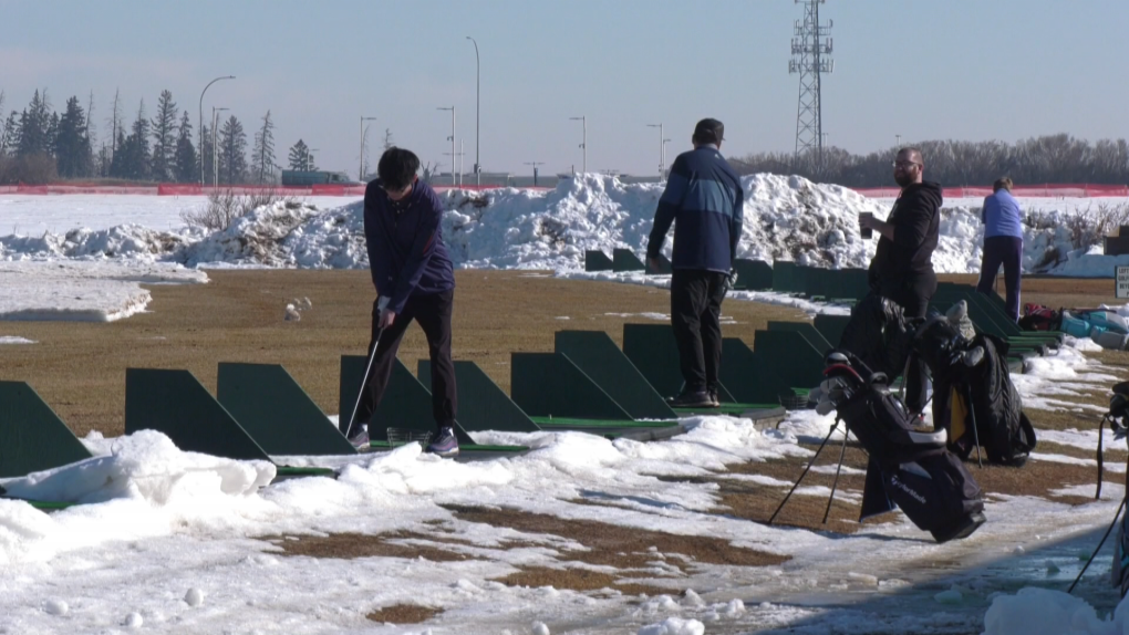 Canada Golf Card driving range