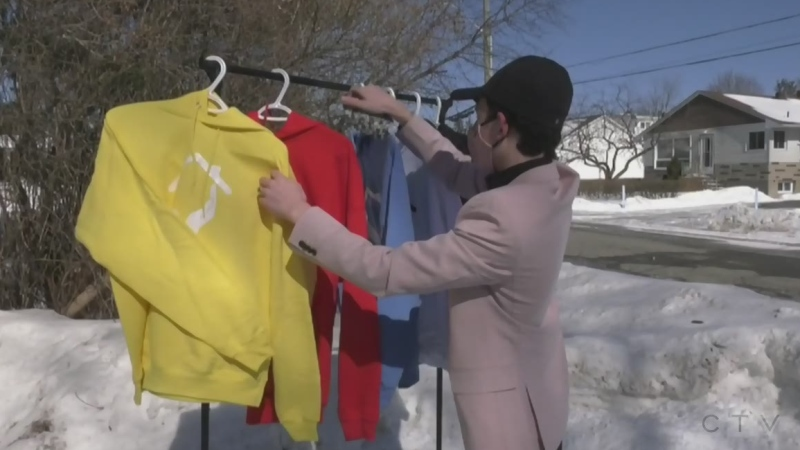 Sudbury teen's clothing line will help charities