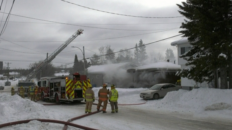 No injuries in Timmins house fire Friday morning