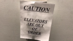 Broken elevator a hardship at seniors building