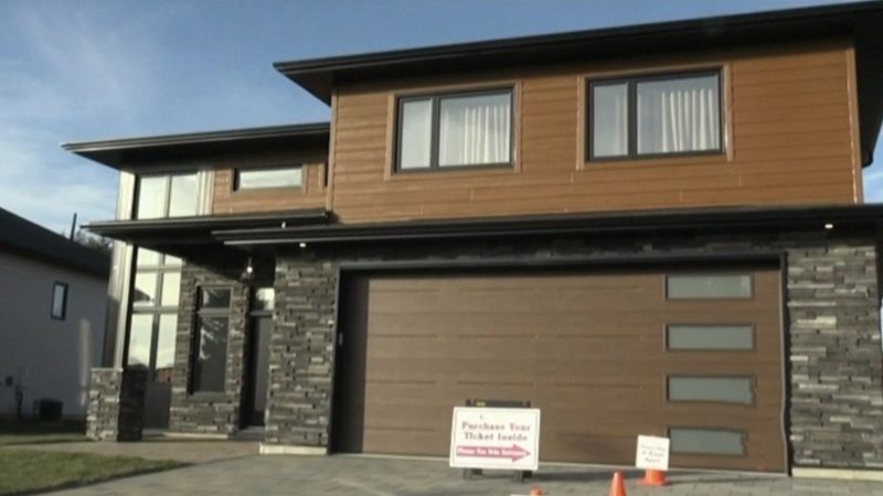 Lucky day: Hanmer man wins dream home