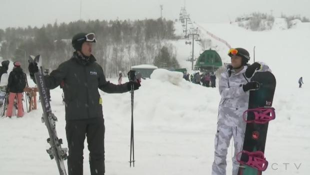 Will and Josh explore Sudbury's Adanac Ski Hill