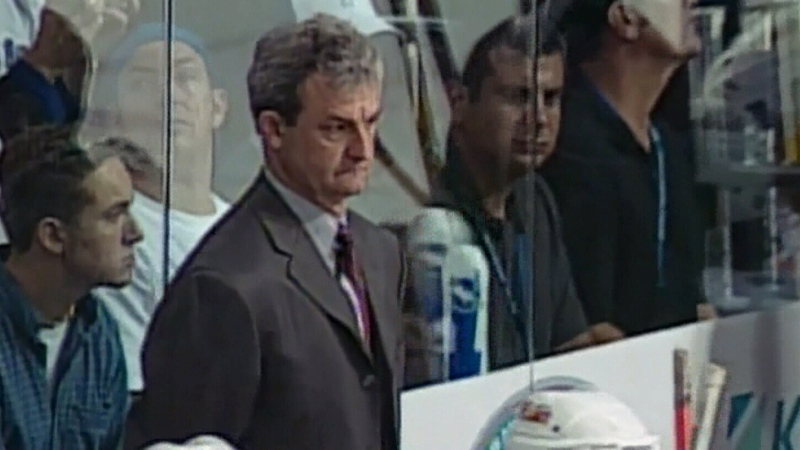 Sutter returns behind Flames bench