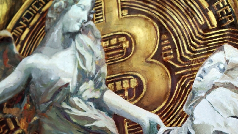"""Bitcoin Angel"" by Trevor Jones"