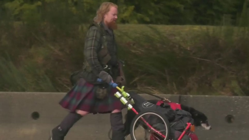 Man plans to walk across Canada for charity