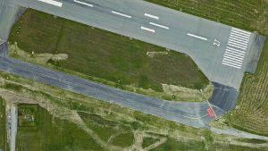 The new taxi-way at Victoria International Airport was completed in 2020. (Victoria Airport Authority)