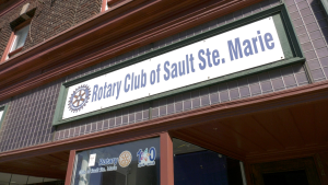 President of the Rotary Club of Sault Ste. Marie, Megan Wigmore, says despite the fundraising challenges posed by COVID, Rotarians remain committed to supporting their community. March 5/21 (Mike McDonald/CTV News Northern Ontario)