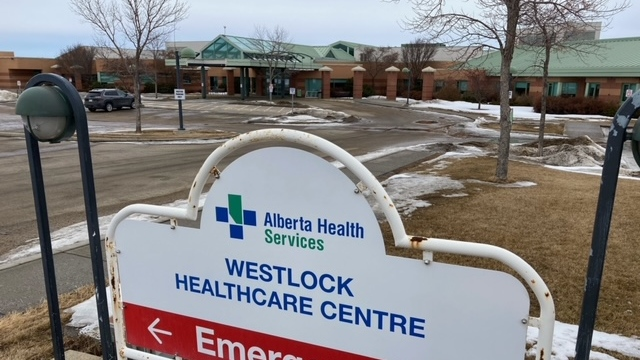 Staff at Westlock Healthcare Centre have implement outbreak protocols after a variant COVID-19 case was detected. (Dave Mitchell/CTV News)