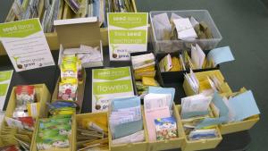 Seedy Saturday at the Brockville Public Library. (Nate Vandermeer/CTV News Ottawa)