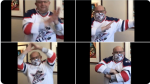 Kitchener Mayor Berry Vrbanovic seen doing the Kitchener Safety Dance Challenge. (@berryonline / Twitter)