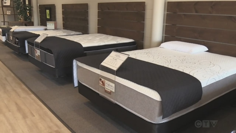 Waterloo mattress manufacturer takes on the world