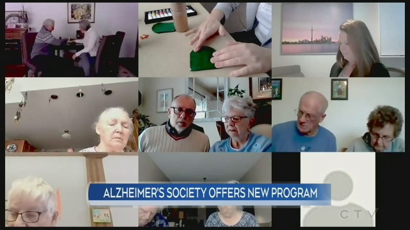 The Alzheimer's Society of Simcoe County runs virtual programs to keep engaged
