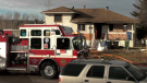 A house in the 100 block of 44 Avenue NE was significantly damaged in a fire on March 6, 2021.