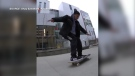 Island skateboarder shoots for Olympics