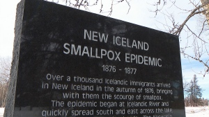While the world is set to get vaccinated against COVID-19, some historians see it as a reminder of the smallpox epidemic that devastated one Manitoba community 145 years ago. (CTV News)