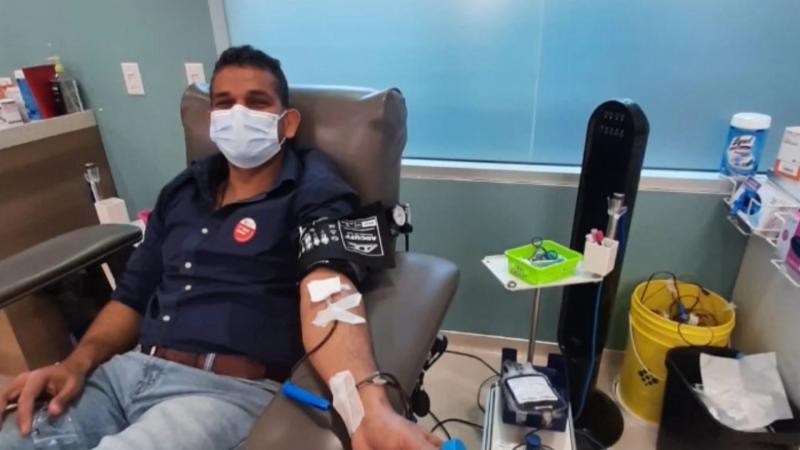 Sgt Harnett blood drive