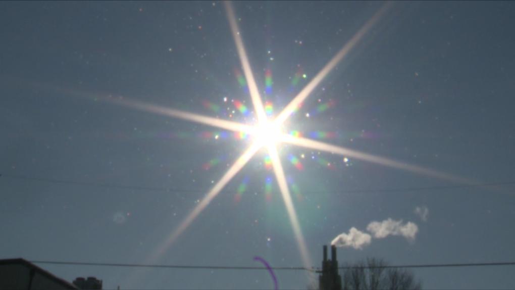 Ottawa winter sun sunny cold