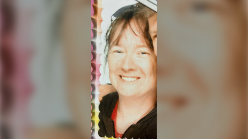 49-year-old Sarah Roberts was last seen in Wolfville, N.S. on Friday at 10 a.m. Her sister, NDP MLA Lisa Roberts says she left town at that time, intending to be back for 5 p.m. (Photo: N.S. RCMP)