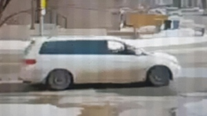Police are hoping someone may have more information about this vehicle, believed to be connected to a possible child abduction in northeast Calgary on Friday. (Supplied)