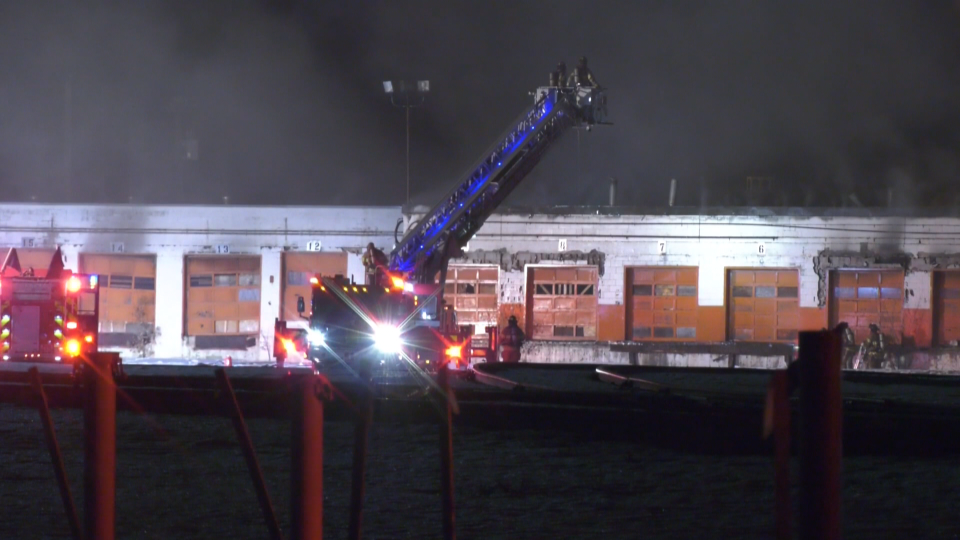 CP rail yard fire Old Strathcona Marc 6