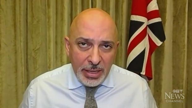 U.K. Vaccines Minister Nadhim Zahawi