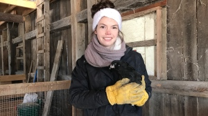 Kendra Dehaan of Pine Ridge Acres. March 7/21 (Alana Pickrell/CTV News Northern Ontario)