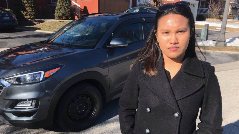 Ont. woman traumatized after SUV randomly slammed on breaks