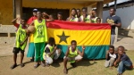 "Hope Agbolosoo founded ""Project Hope"" with a goal of building basketball courts in communities across Ghana. (Supplied)"