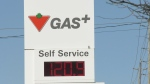 Canadian Tire gas on Merivale Road more than $1.20 a litre on Sunday.(Dave Charbonneau/CTV News Ottawa)