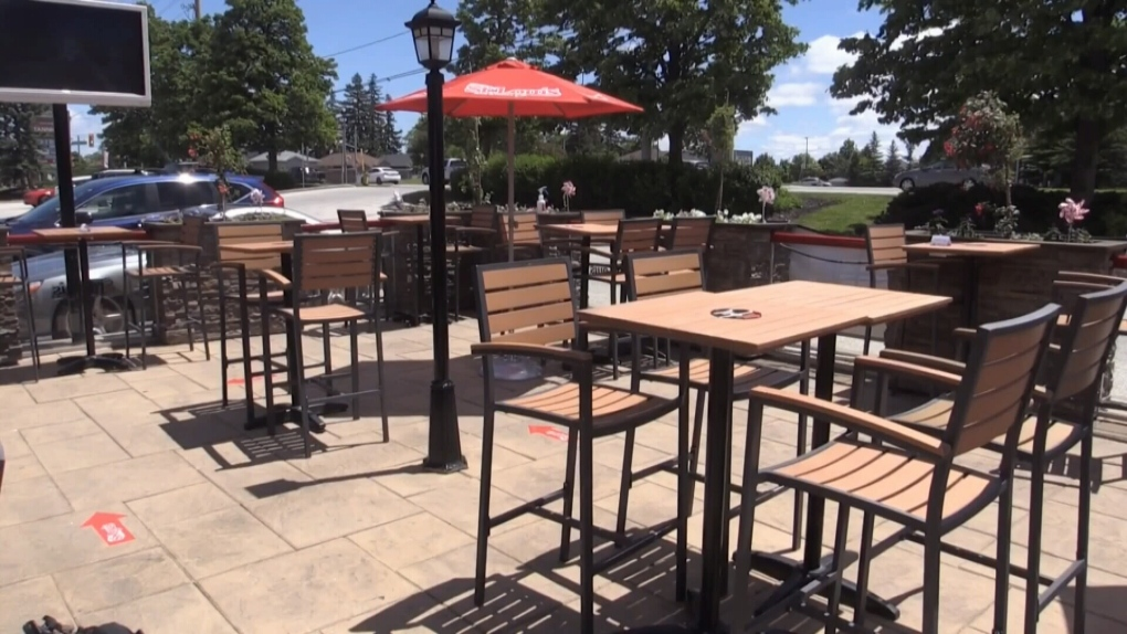Barrie's patio season could start April 1