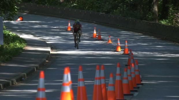 Vancouver Park Board set to vote on temporary Stanley Park bike lane