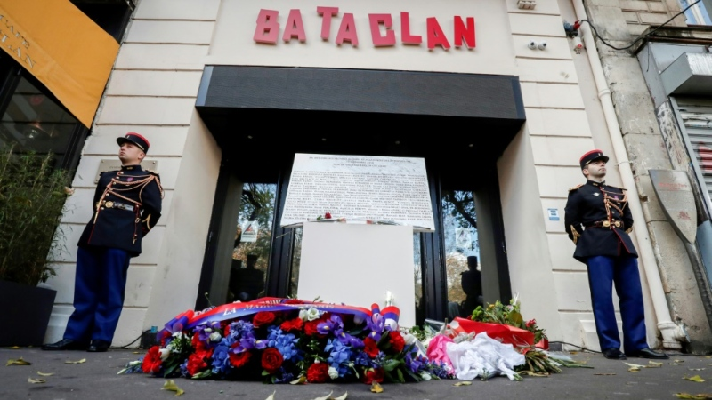 Islamist suicide bombers and gunmen killed dozens at Parisian sites including the Bataclan concert hall in November 2015
