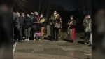 The vigil for Jana Williams was held on March 7. (Source: Gary Robson/CTV News)