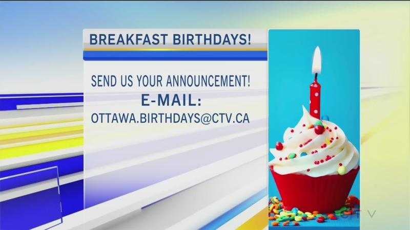 CTV Morning Live Birthdays Mar 08