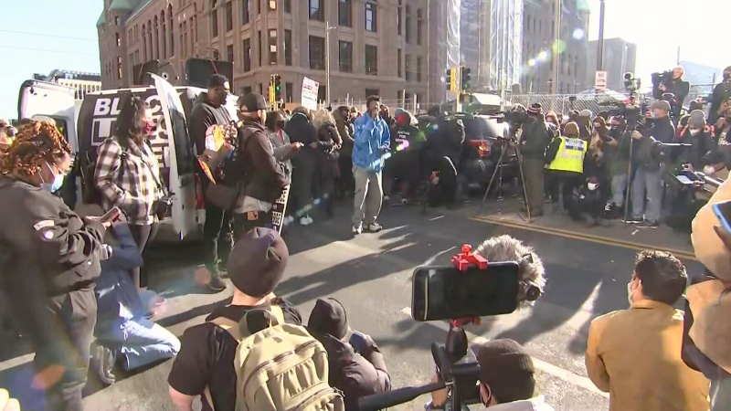 LIVE NOW: Rally held to demand justice for George Floyd