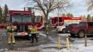 A fire that started in one unit of a Royal Gardens complex on March 7, 2021, spread to three other units. One person was hospitalized.