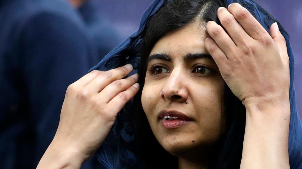 Malala Yousafzai in London in 2019